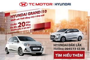 Hyundai Grand i10 bất ngờ giảm tới 20 triệu đồng